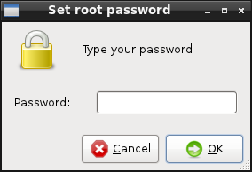 Set Root Password